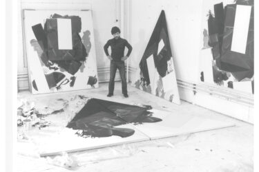 Robert Reed in his studio